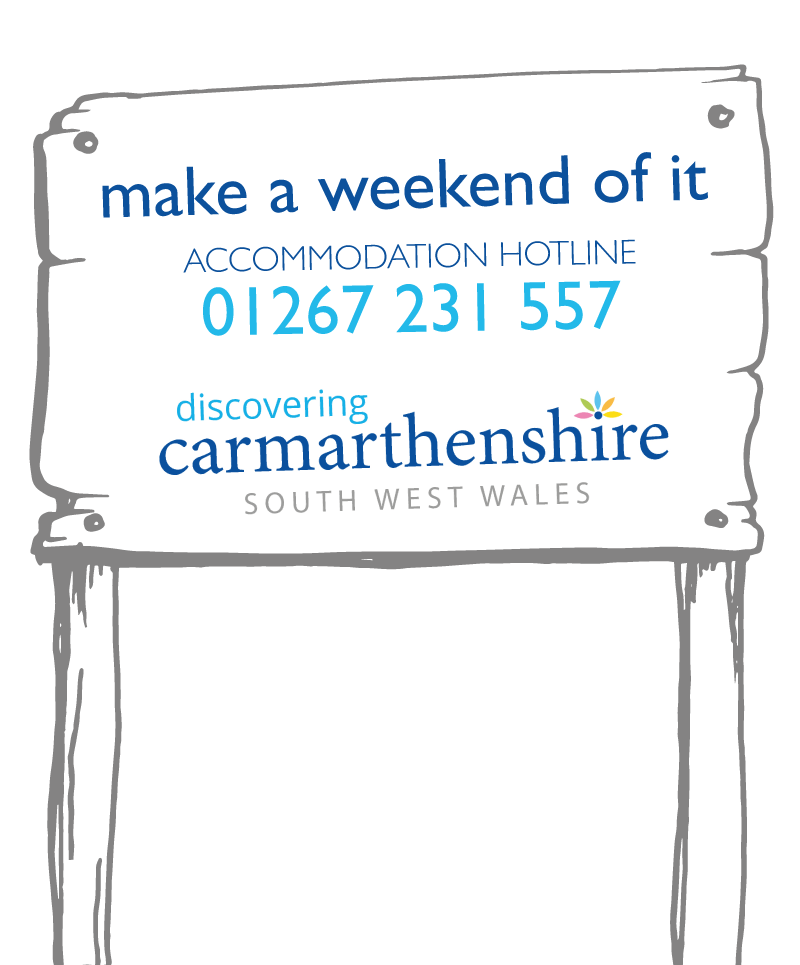 Make a weekend of it and Visit Carmarthenshire