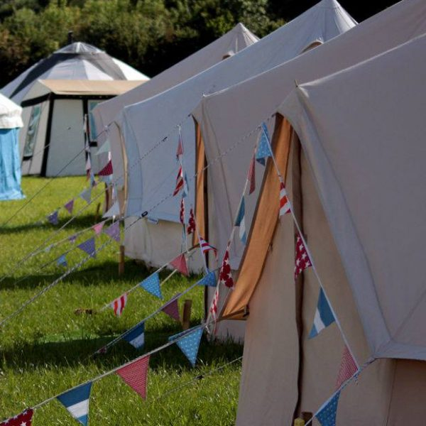 Glamping at The Big Cwtch 2018