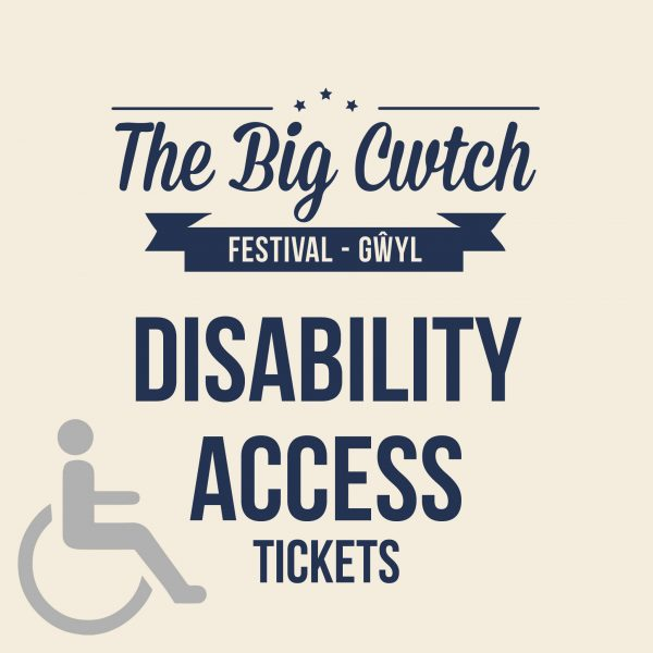 Disabled Access Tickets / Tocynnau Anabl