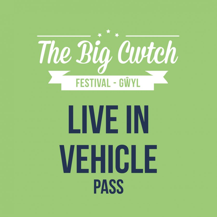 The Big Cwtch live in vehicle